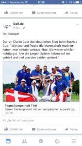Golf.de Facebook