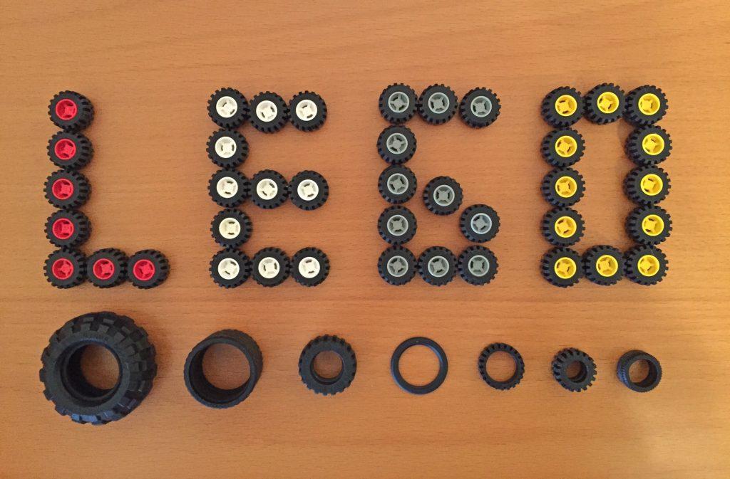 Denkmuster Lego Reifen