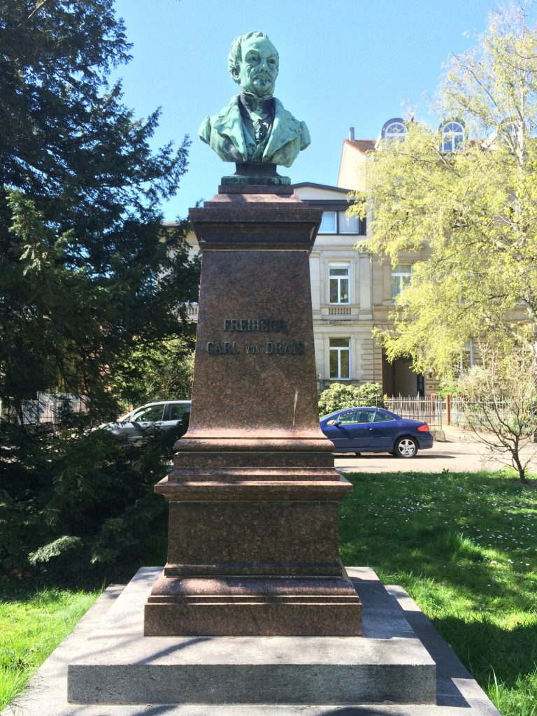 Denkmal Karl von Drais