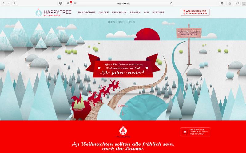 Happy Tree – oder wie der Weihnachtsbaum glücklich wurde