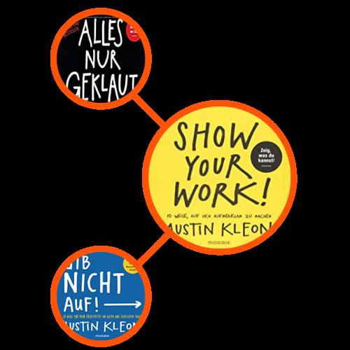 Trilogie von Austin Kleon